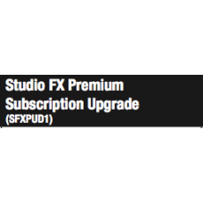 Studio FX Premium Subscription Upgrade (SFXPUD1)